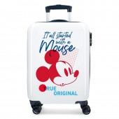 Troler calatorie copii ABS 55 cm 4 roti Disney Mickey Mouse Magic NEW 2019