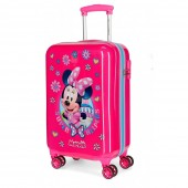 Troler calatorie copii ABS 55 cm 4 roti Disney Minnie Mouse Super Helpers