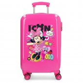 Troler calatorie copii ABS 55 cm 4 roti Enjoy Disney Minnie Mouse Icon