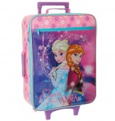 Troler Disney Frozen Soft 50 cm cu 2 roti Frozen Magic