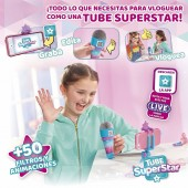TUBE SUPERSTAR - Microfon cu suport Selfie