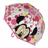 Umbrela manuala transparenta copii PREMIUM Disney Minnie