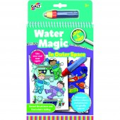 Water magic: Carte de colorat Spatiu